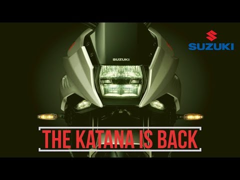 Suzuki Katana  all new Official