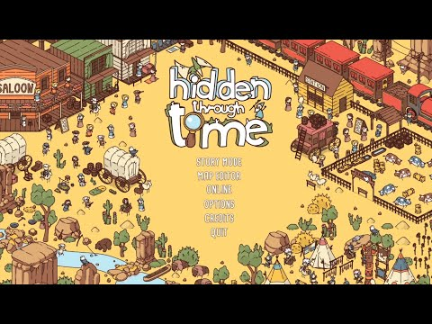 Hidden Through Time - Western (Guide + Commentary) |