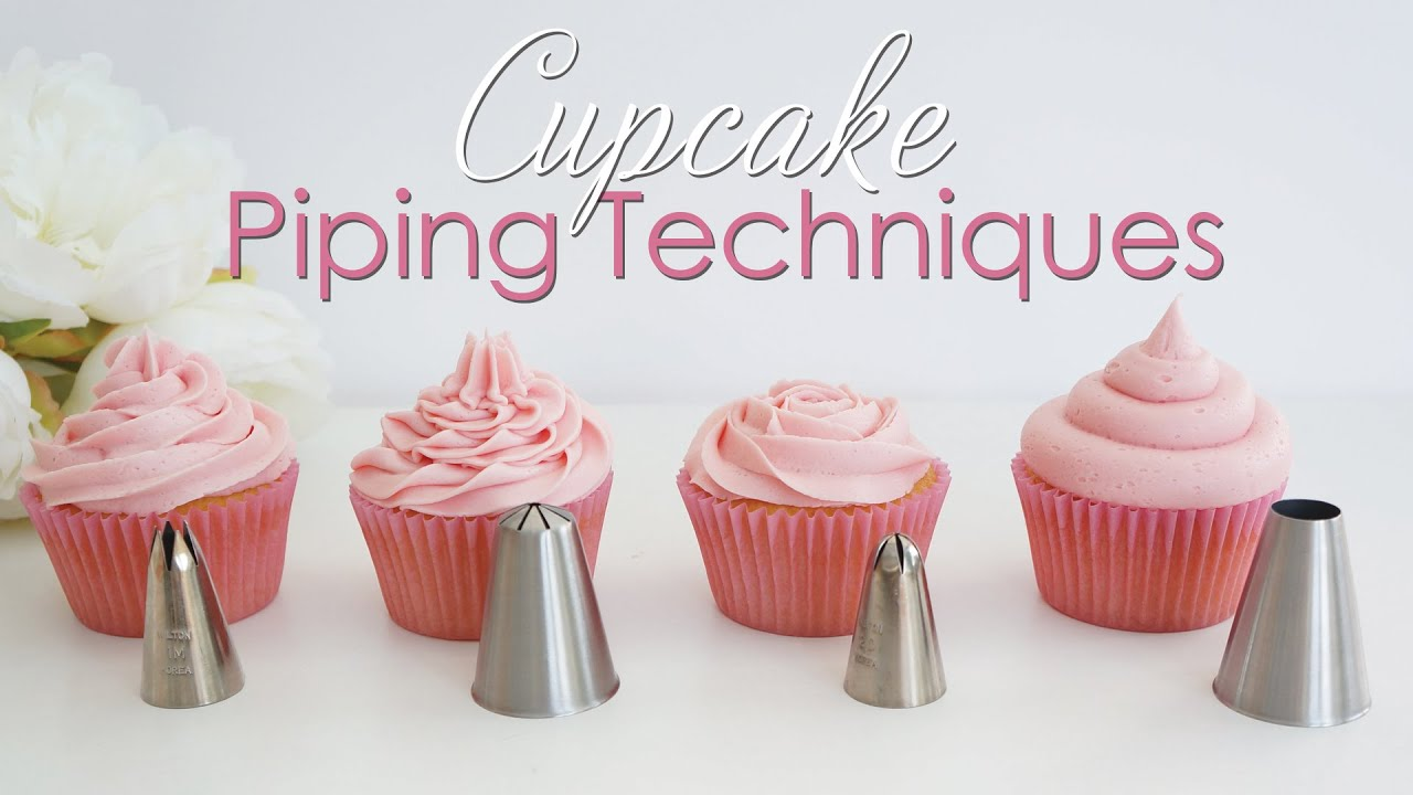 How to use cake decorating tips for cupcakes for Decorating advice