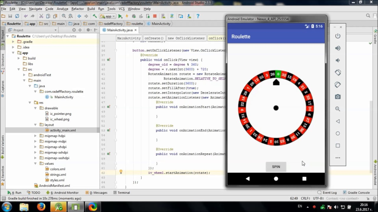 Develop Flag Quiz in Android Studio - YouTube