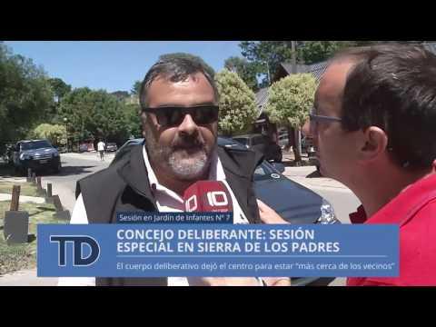 Telediario | Concejo deliberante: sesión especial en Sierra de los Padres