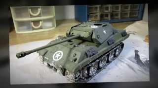 Building Dragon Panther Ersatz M10 Tank. From Start To Finish. Part 3 Battle Of Bulge