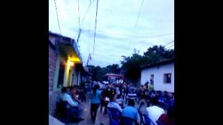 Fiestas julias 2013 barrio santa rosa apastepeque