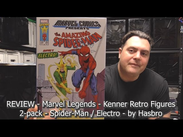 REVIEW - Marvel Legends - Kenner Retro Figures 2-pack - Spider-Man / Electro - by Hasbro