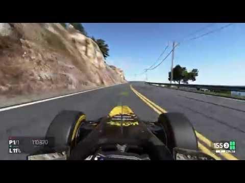 Project CARS high way full testrit Los Angeles Formula A