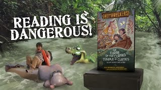 We Nearly Died. A Lot.  (Shipwreckers! Book - plus behind the scenes)