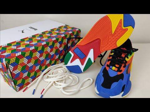 Rubik's Shoes?! | First Look: PUMA X RUBIK'S RS-X³ Men's Sneakers