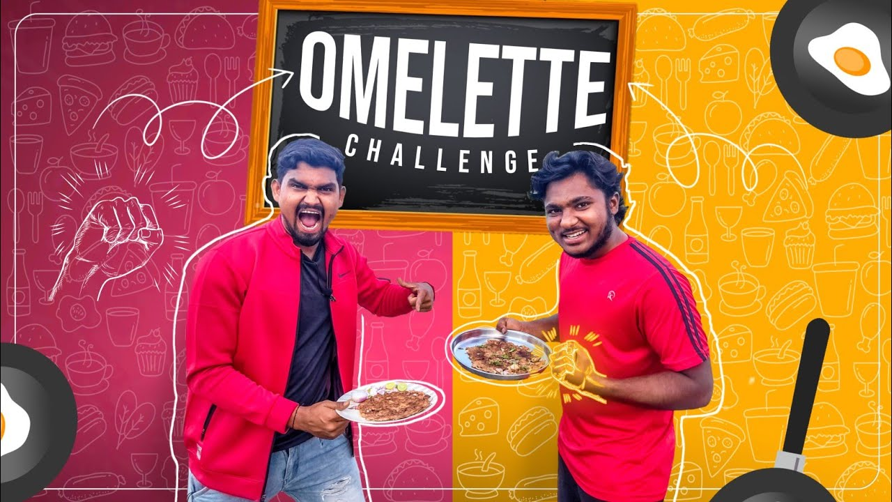 Omelette Making challage | Shahid Vs Narendra