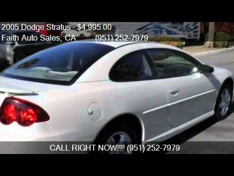 2005 Dodge Stratus SXT Coupe for sale in Temecula, CA 92590