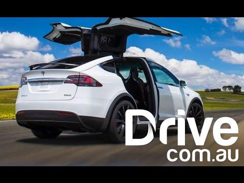 Tesla Model X Australian First Drive Review | Drive.com.au