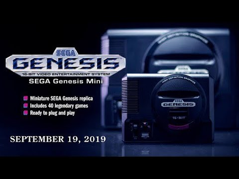 Sega Genesis Mini Announced!! Coming Fall of 2019! thumbnail