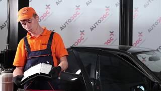 BMW 3 E36 Kabinszűrő csere [ÚTMUTATÓ]