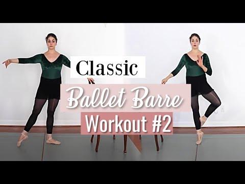 Classic Ballet Barre Workout #2 | Kathryn Morgan