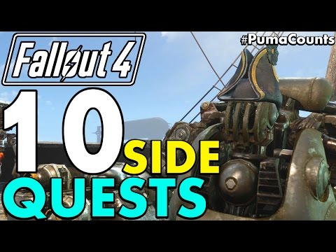 Top 10 Best Side Quests and Side Missions in Fallout 4 #PumaCounts