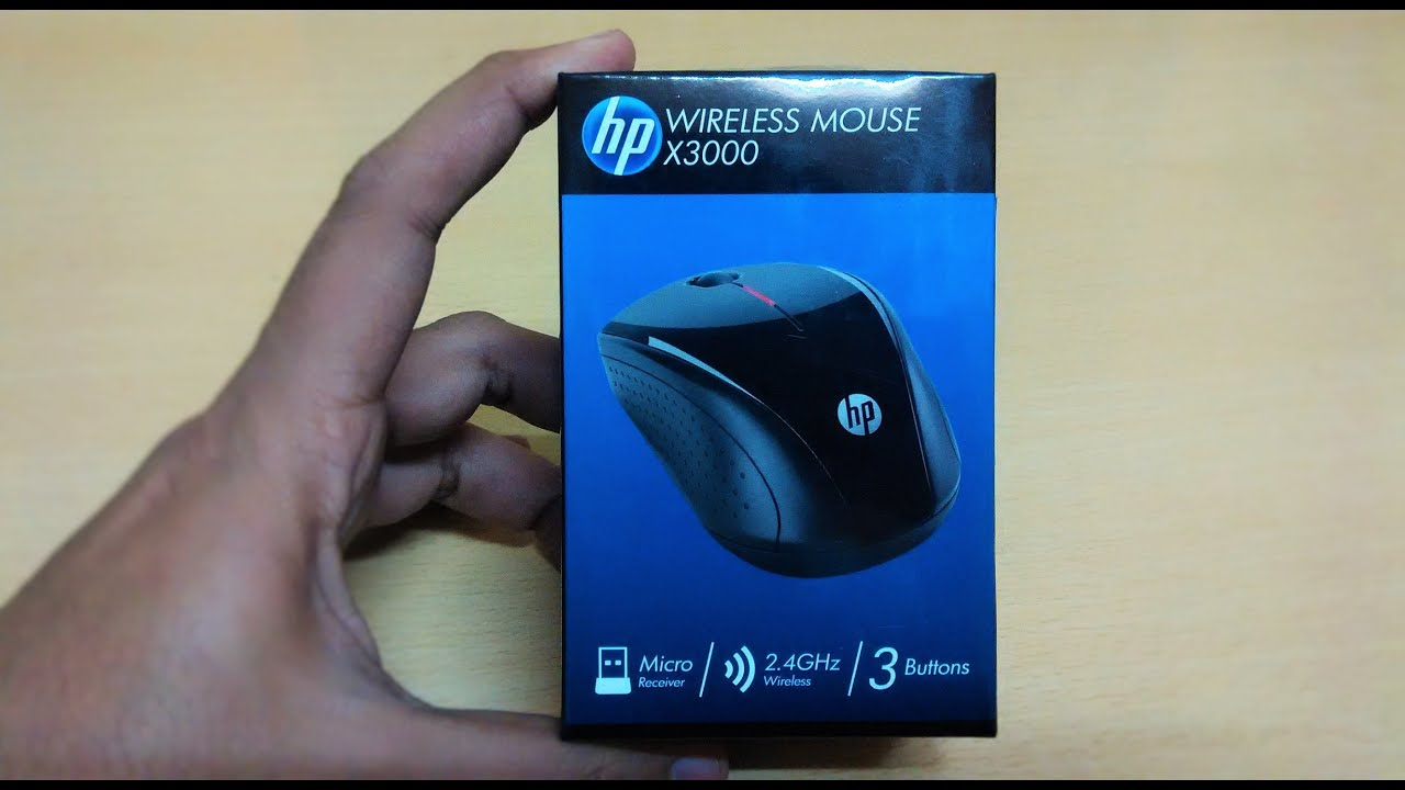 HP X3000 Wireless Mouse (H2C22AA) UNBOXING | REVIEW - YouTube