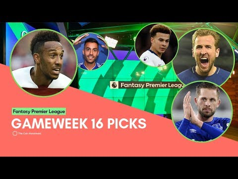 FPL GAMEWEEK 16 PICKS 2018/19 Fantasy Premier League : Look Forward and Stay Positive!