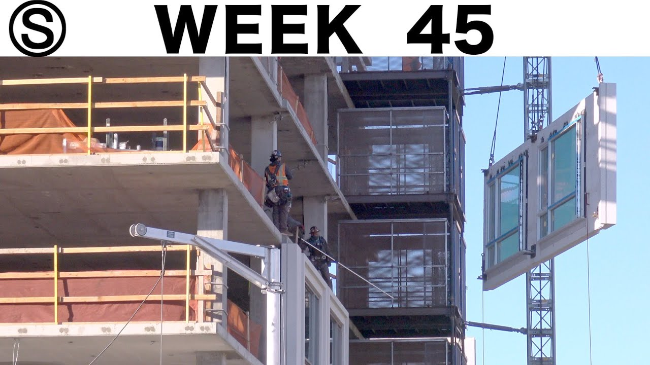 One-week construction time-lapse with closeups: Week 45 of the Ⓢ-series