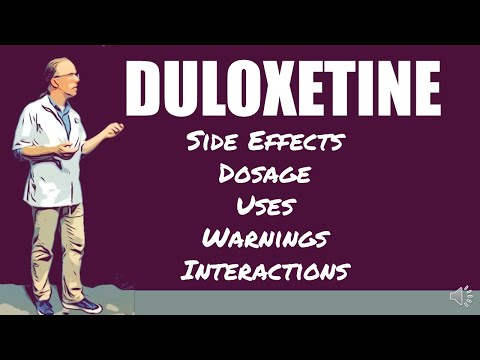 🔴 Duloxetine Side Effects Dosage Uses Warnings And Interactions