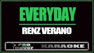 Cover images Everyday - Renz Verano (KARAOKE)