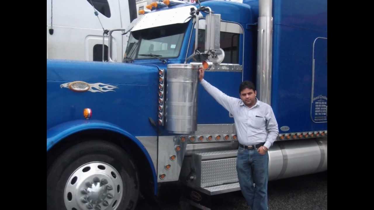canadian punjabi truck drivers
