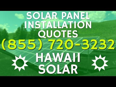 (855) 720-3232 Solar Panel Installation Quotes M C B H Kaneohe Bay HI