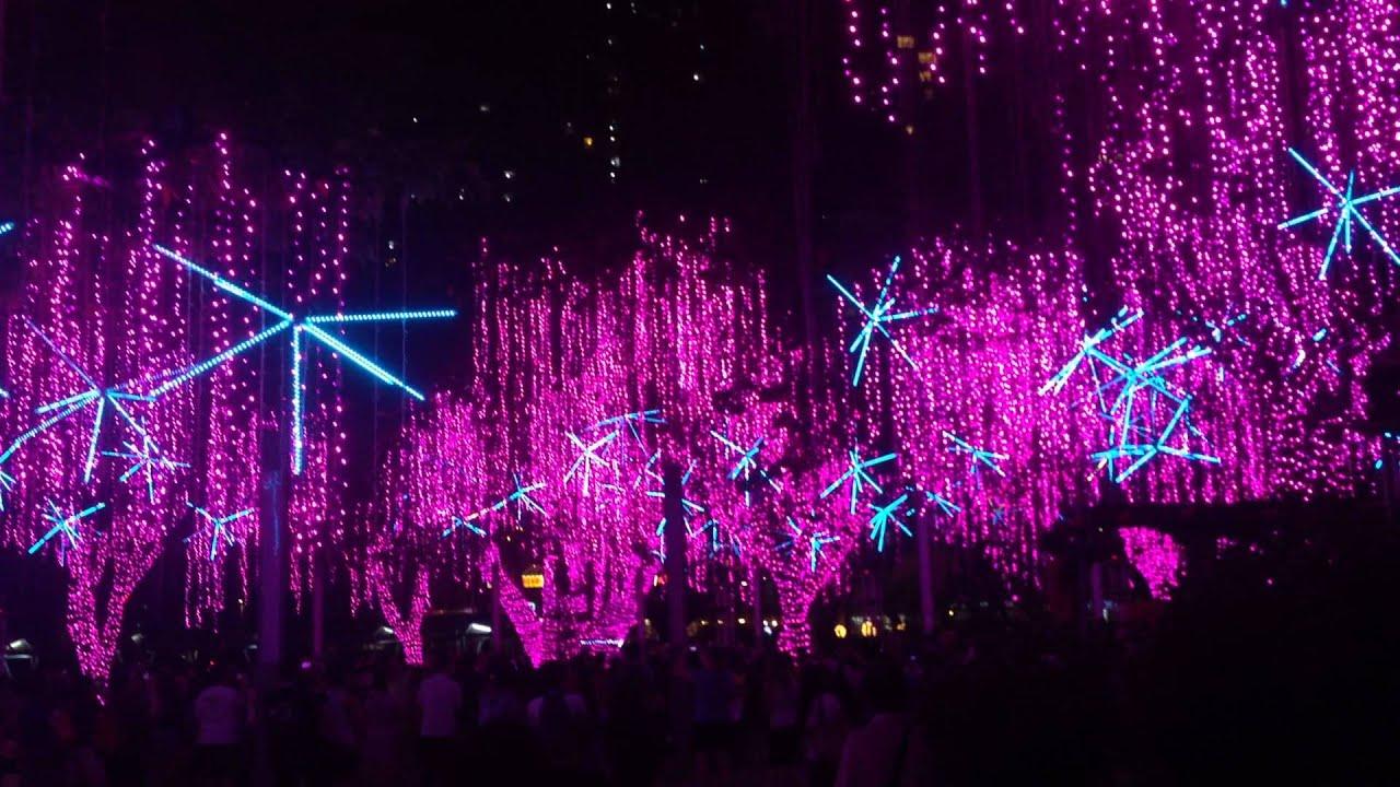 Dancing Christmas Lights 2014 - Ayala Triangle, Makati City - YouTube