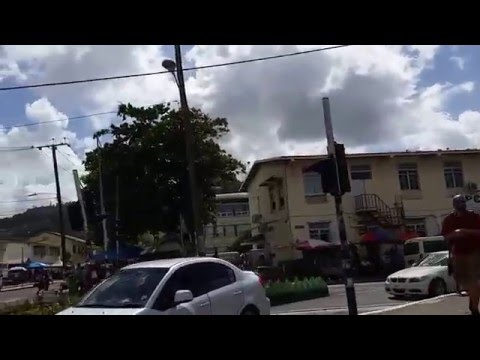Downtown Castries, Saint Lucia Walking Tour