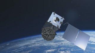 ひまわり8号のCG公開 地球見守る次期気象衛星