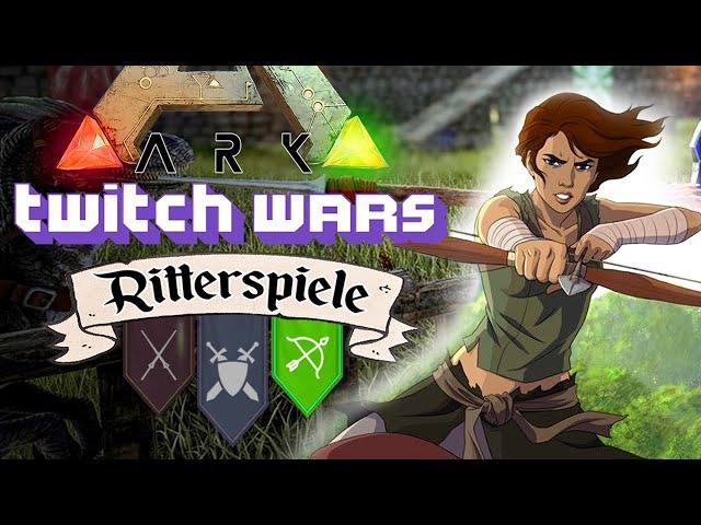 Die Ritterspiele: Bogen Duell 🦖 ARK Twitch Wars #07 [Lets Play Deutsch]