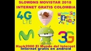 Internet Gratis Con SlowDNS movistar Colombia 4G Y 3G