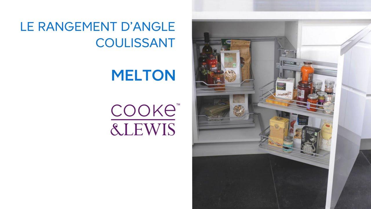 Meuble D Angle Cuisine Castorama.Rangement D Angle Coulissant Melton Cooke Lewis 669477 Castorama