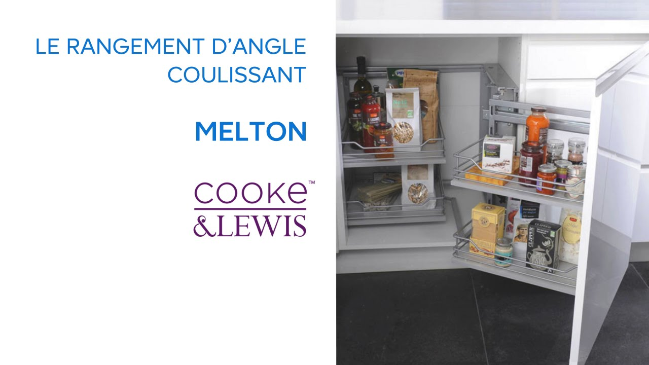 Rangement d\'angle coulissant Melton COOKE & LEWIS (669477 ...
