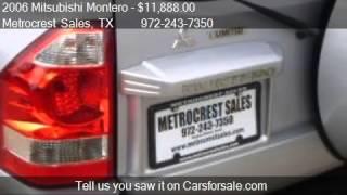 2006 Mitsubishi Montero Limited 4x4 3rd row - for sale in Fa