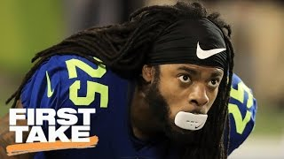 What Does Patriots' Interest In Richard Sherman Mean For NFL? | First Take | April 6, 2017