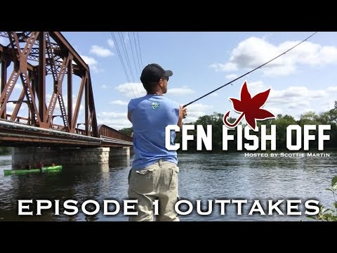 Outtakes - CFN Fish Off - EP 1 - Otonabee River, Peterborough (watch Full Episode At CFN Channel)
