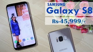 Samsung Galaxy S8 Unboxing & Overview- In Hindi
