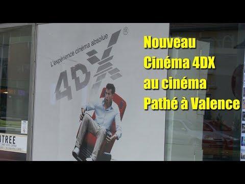 Locale à la Une   Technologie 4DX   Cinéma pathé valence