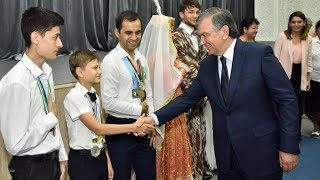 Шавкат Мирзиёев Бу Болага Уй Совга килди.