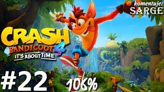 Zagrajmy w Crash Bandicoot 4: Najwyższy Czas (106%) odc. 22 - Komiksowo