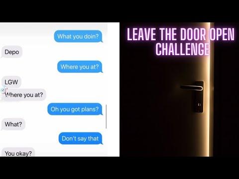 Leave-The-Door-Open-Challenge