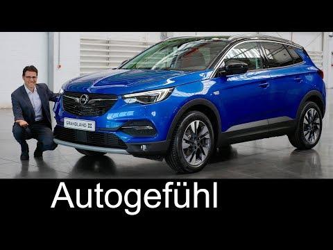 Opel Grandland X REVIEW & comparison Crossland X vs Mokka X - all-new Vauxhall SUV - Autogefühl