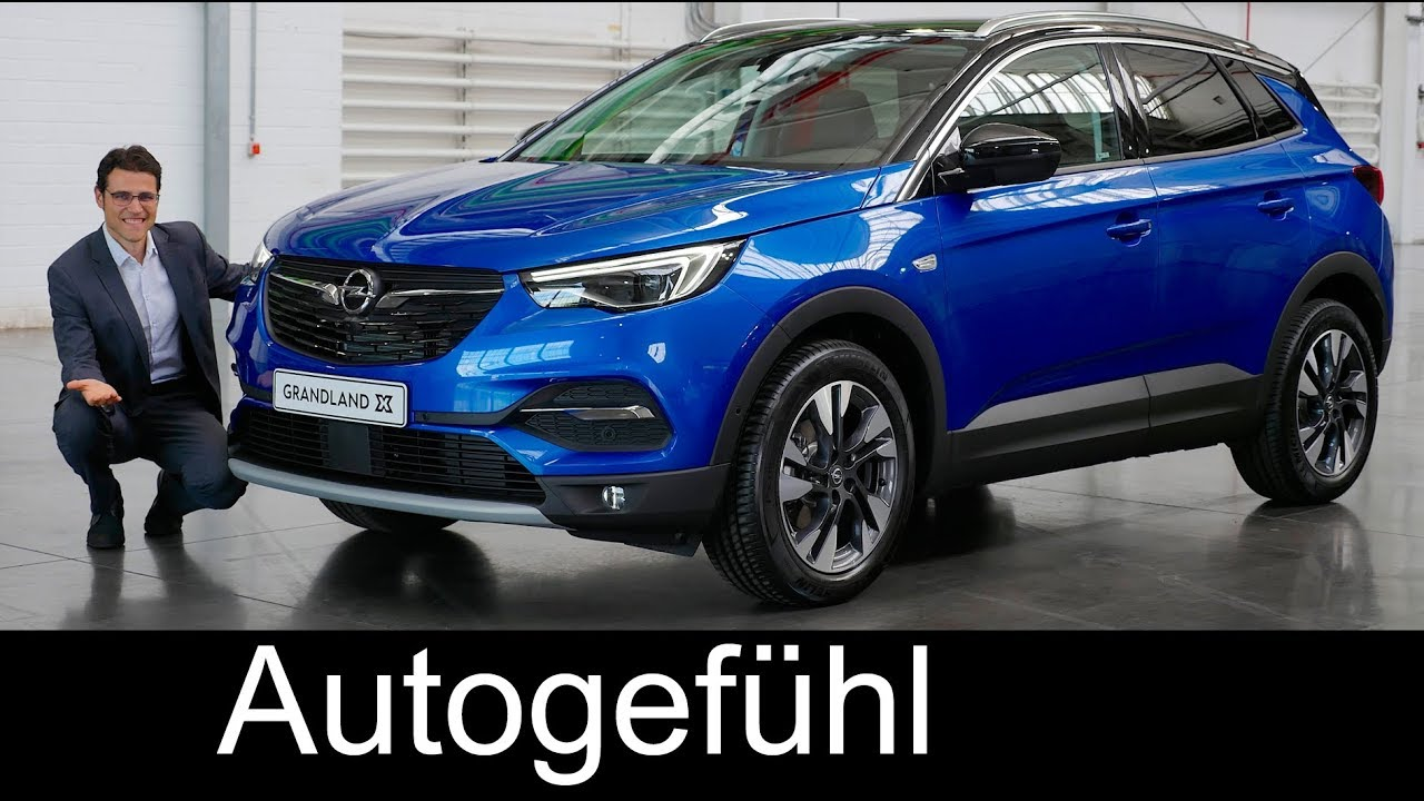 opel grandland x review comparison crossland x vs mokka. Black Bedroom Furniture Sets. Home Design Ideas
