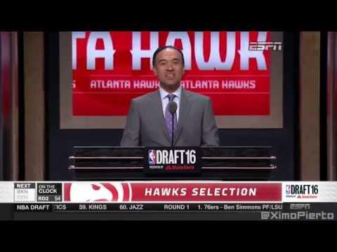 2016 NBA Draft   #54 Pick׃ Kay Felder   Atlanta Hawks