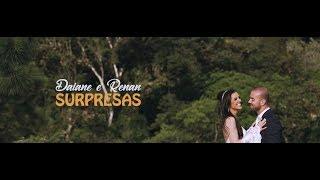 Casamento com anúncio de gravidez | Daiane e Renan | Metade da Laranja Filmes