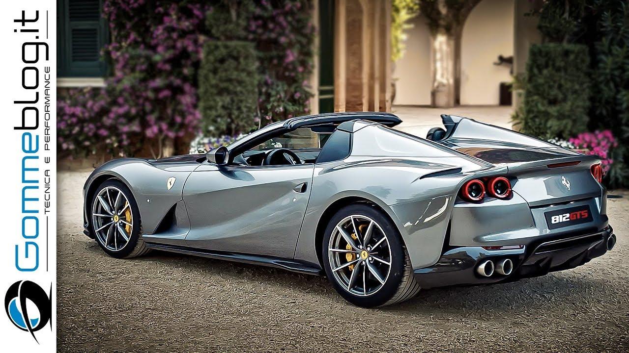 Ferrari 812 Gts V12 Spider Returns Tech Features Design Youtube