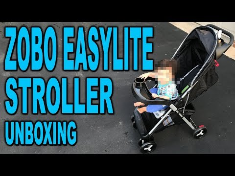 Zobo EasyLite Stoller Unboxing And Set Up - Clueless Dad