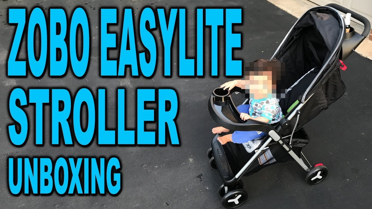 Zobo Easylite Stoller Unboxing And Set Up Clueless Dad