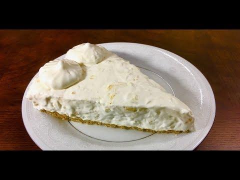 How to Make Pineapple Cheesecake Pie - No Bake Recipe