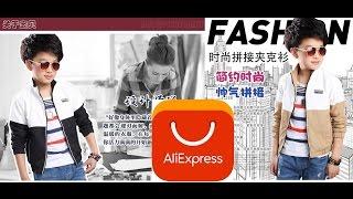 AliExpress / Осенняя Куртка для Мальчиков  / распаковка и обзор / Unboxing and  review