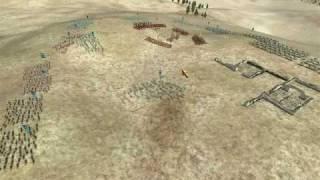 Rome Total War Online Battle #1261: Thrace vs Greece